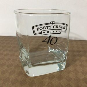 🦋New Listing🦋Forty Creek Whisky Lowball Glass